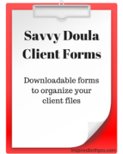 Savvy Doula Client Forms
