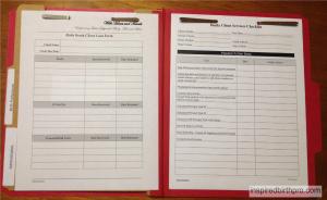 Client Folder Sample - Administrative Paperwork