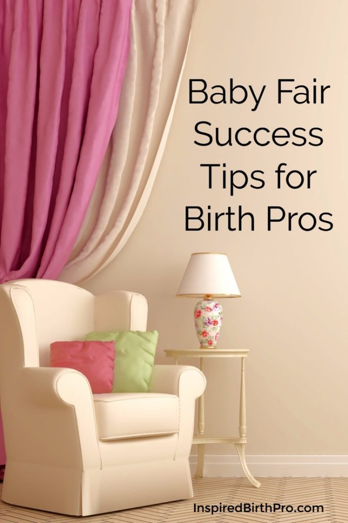 Baby Fair Success Tips for Birth Pros