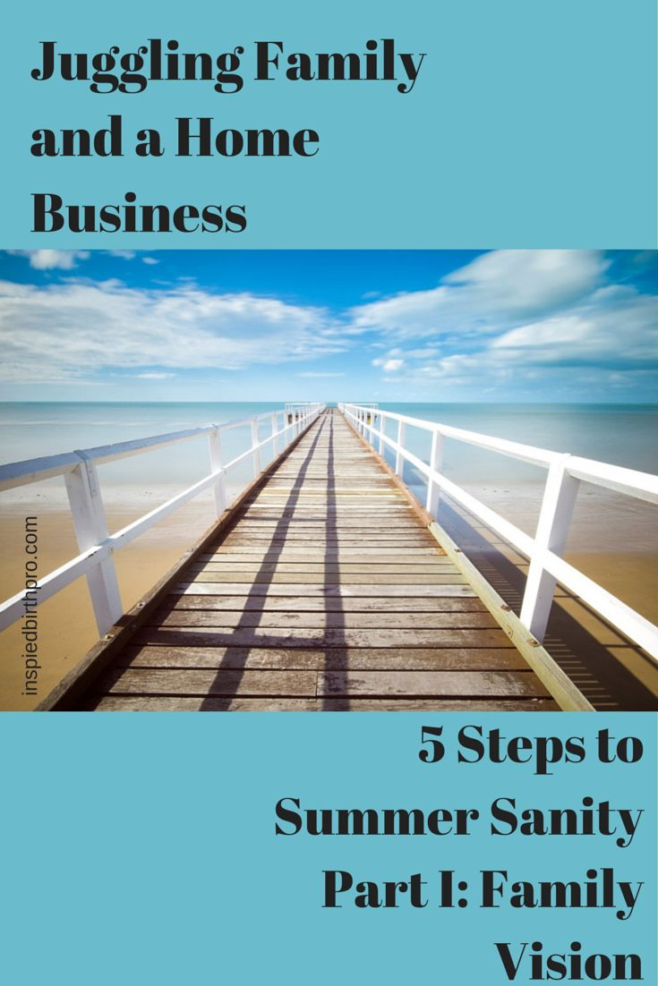 Running a home business with kids underfoot during the summer can be a challenge, but with intentional planning, you can successfully do both so your birth business can thrive! www.inspiredbirthpro.com