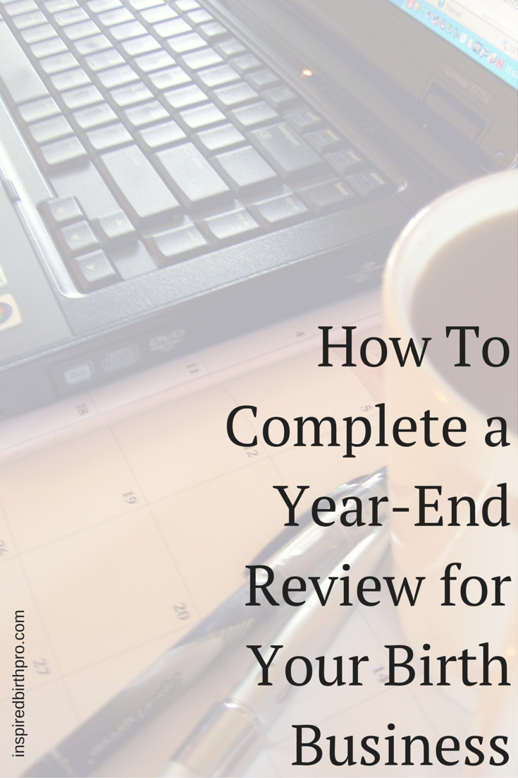 how to prepare for year end review