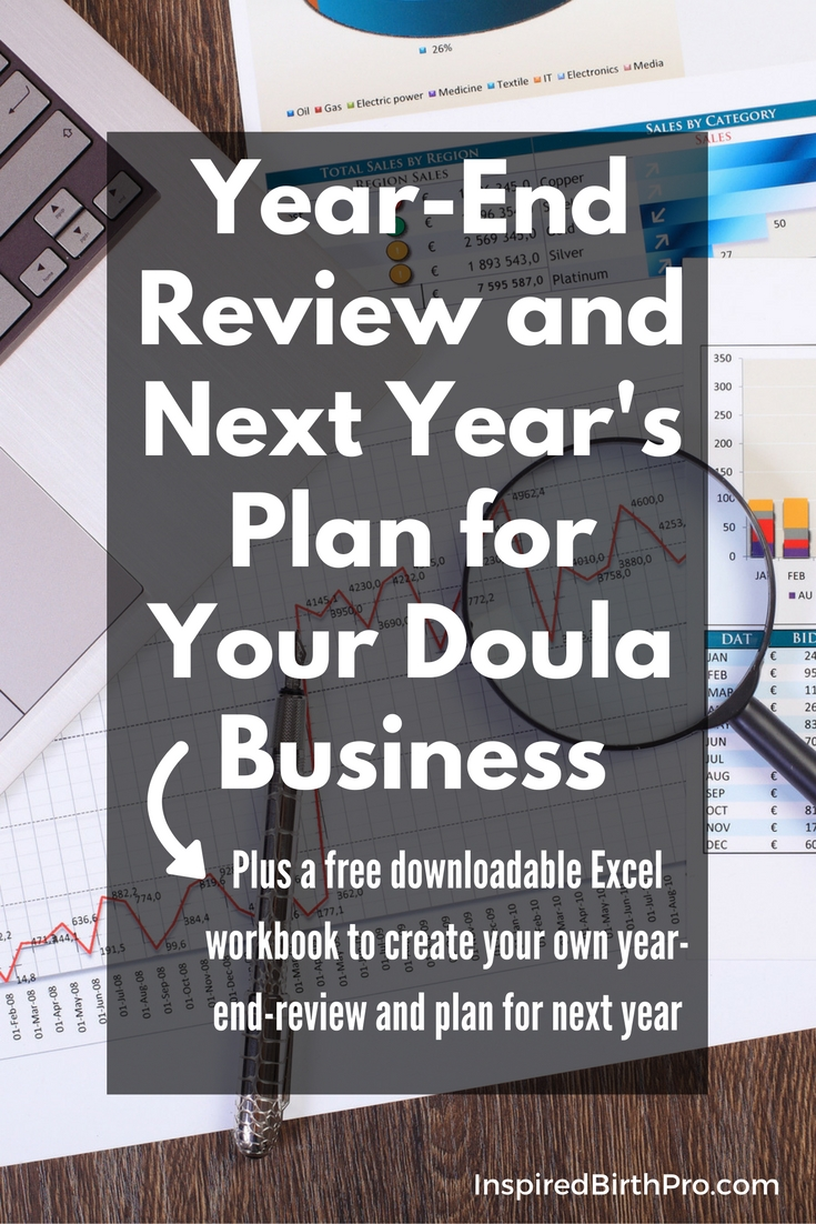 Year-End Review and Next Year's Plan for Your Doula Business