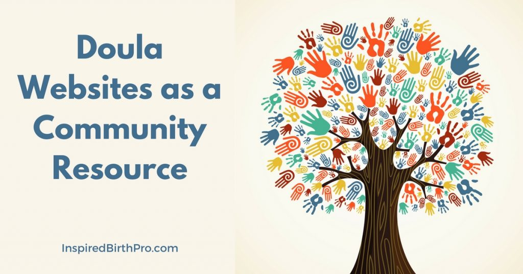 Doula Websites as a Community Resource | Guest Post by Brent Leavitt, New Beginnings Doula Training