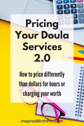 Pricing Your Doula Services Banner