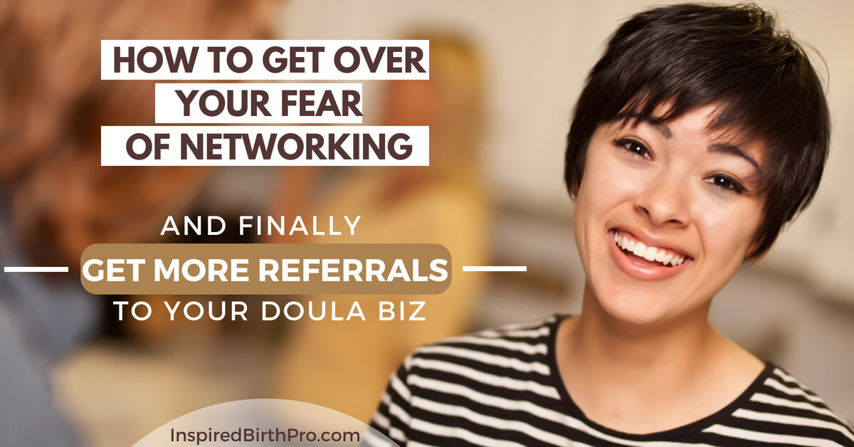 How to get over your fear of networking