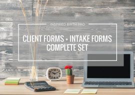Savvy Doula Forms Full Set – Client + Intake Forms