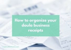 Product Review: File-It Calendar to Organize Doula Business Receipts