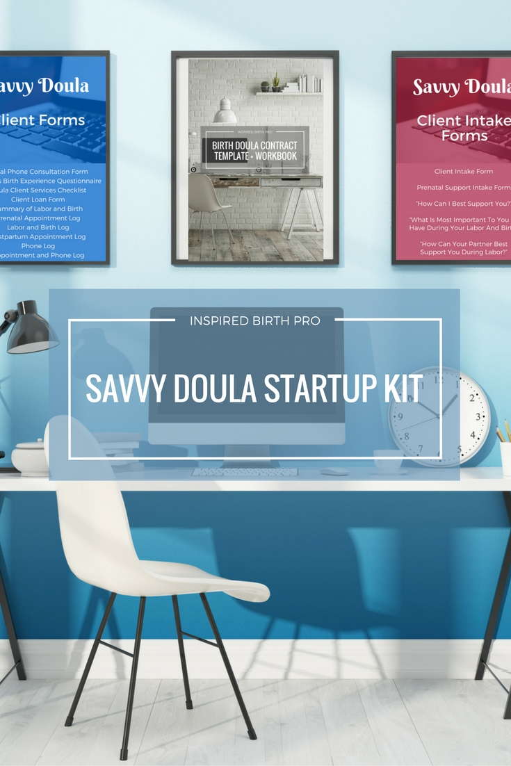 Savvy Doula Startup Kit