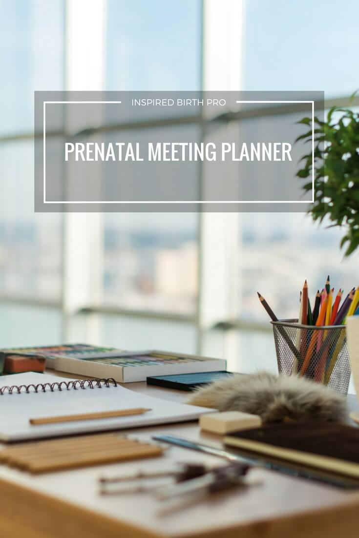 Prenatal Meeting Planner | Birth Doula | Doula Business